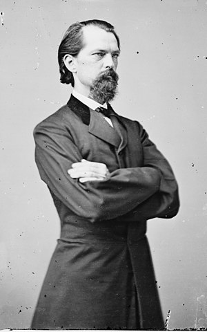 Thomaston, Georgia - John Brown Gordon portrait by Mathew Brady.
