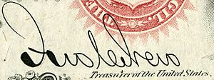 John C. New - Image: John Chalfant New (Engraved Signature)