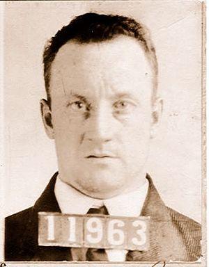 "John Hamilton (gangster) - Mugshot of John ""Red"" Hamilton."