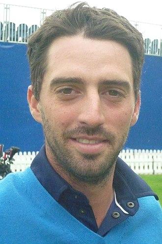 John Parry (golfer) - Parry at the 2011 KLM Open