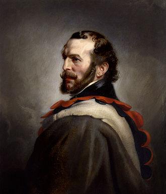 John Rae (explorer) - Portrait by Stephen Pearce, 1862