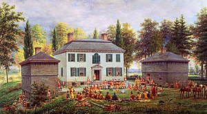 Molly Brant - Johnson Hall, Molly Brant's home from 1763 to 1774.