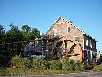 Johnson, Arkansas - The historic Johnson Mill
