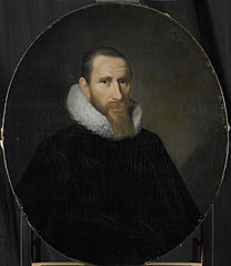 Portrait of Joost van Coulster, Director of the Rotterdam Chamber of the Dutch East India Company, elected 1630