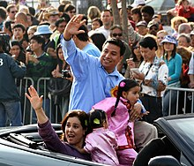 José Huizar and his family during a Chinatown parade.jpg