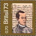 José Maurício Nunes Garcia 1973 Brazil stamp.jpg