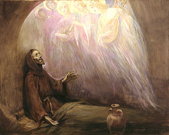 Christian mysticism - Life of Francis of Assisi by José Benlliure y Gil