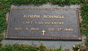Joseph Bonnell - Image: Joseph Bonnell Mrkr 4151b