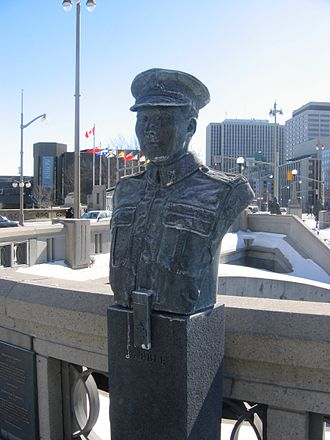 Joseph Kaeble - Bust of Joseph Keable, Valiants Memorial, Ottawa