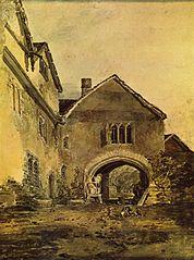 Torweg eines Herrenhauses