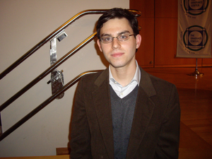 English: Joshua Foer at the Athanius Kircher S...