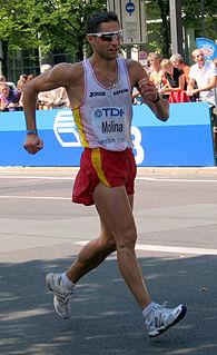Juan Manuel Molina Spanish racewalker