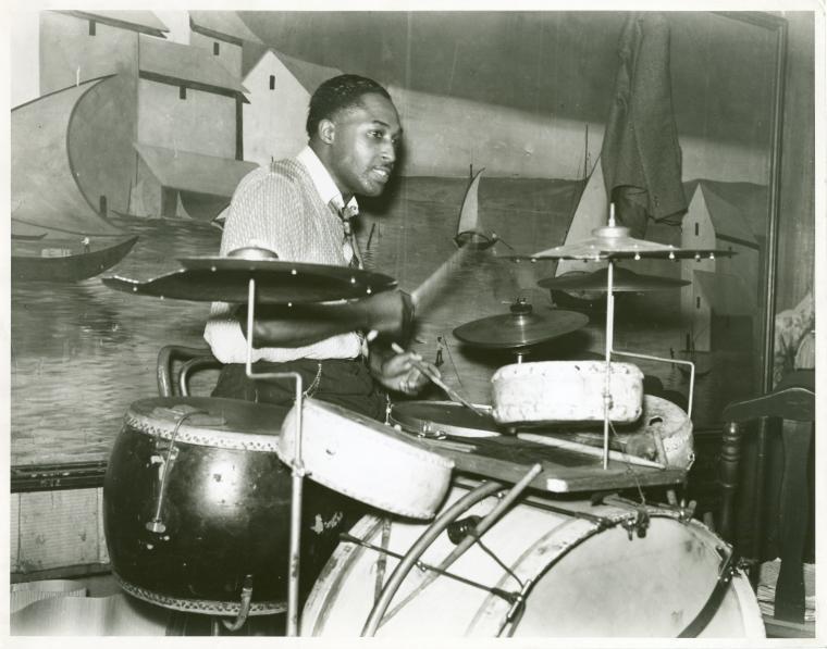 Juke joint drummer