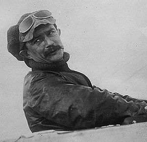 1911 Paris to Madrid air race - Socialist aviator Jules Védrines, winner of the race