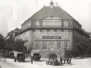 La prima fabbrica della società a Ottakring, vicino Vienna