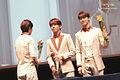 Jung Yong-hwa, Kang Min-hyuk - Can't Stop fan sign event in Pyeongchon.jpg
