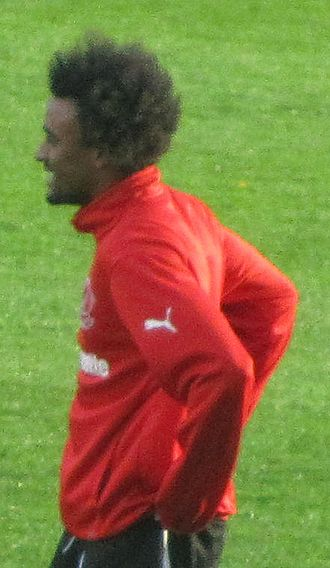 Junior Brown (footballer) - Brown training with Fleetwood Town in 2013