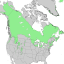 Juniperus communis North American range map 2.png
