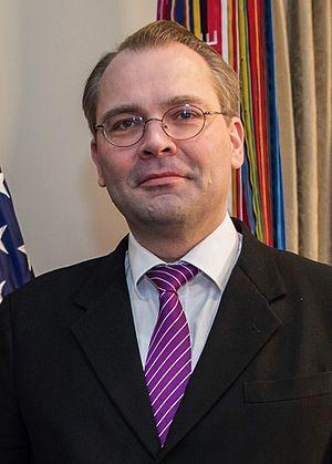 Jussi Niinistö - Image: Jussi Niinistö crop