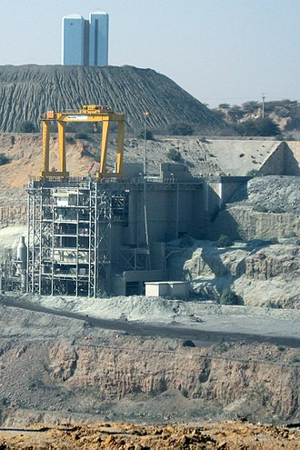 Jwaneng diamond mine - Jwaneng Mine Buildings
