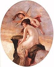 Károly Lotz (1833-1904) Amor and Psyche 1902.jpg