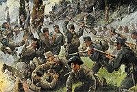 1917: Ang pagpapatuloy ng digmaan [ baguhin ]