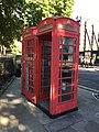 K6 telephone kiosks opposite Paddington Green.jpg