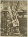 KITLV - 26889 - Kleingrothe, C.J. - Medan - Woman and two children in the Batak country - circa 1900.tif