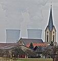 KKG, KKW Grafenrheinfeld, Kirche Hergolshausen, 12-05 - panoramio.jpg