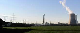 Philippsburg - Farm and power plant