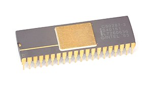 X87 - Image: KL Intel C80287