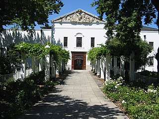 Paarl Place in Western Cape, South Africa