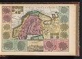 Kaart van Zweden Kaart van Sweden Royaume de Suede (titel op object), BI-B-FM-090-87.jpg
