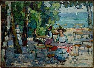 Café Garden At Ammersee