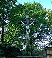 Kamienna Góra, cmentarz komunalny, krzyż.JPG
