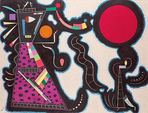 Kandinsky - Red Circle, 1939