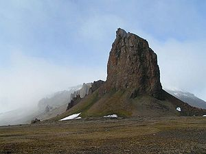 Franz Josef Land - Cape Tegethoff on Hall Island