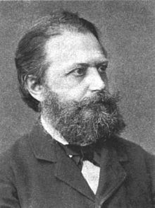 Photo of Karl Julius Schröer.