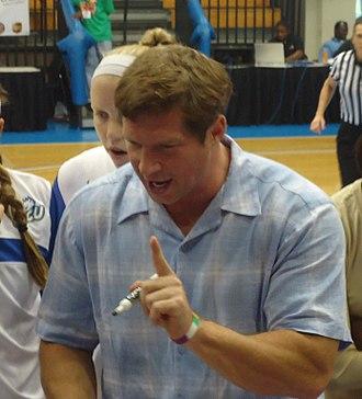 Kay Yow Award - Karl Smesko, the 2012 winner from Florida Gulf Coast University