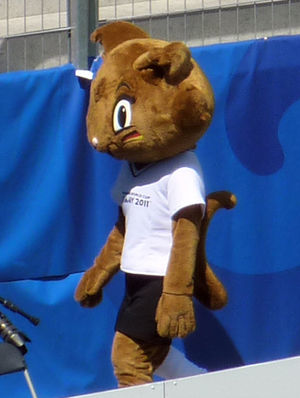 "2011 FIFA Women's World Cup - Mascot ""Karla Kick"""