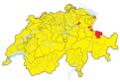 Karte Gemeinden der Schweiz Mai 2018 Artikel alswiki.png