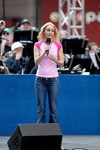 Kate Reinders - At Broadway on Broadway, 2006