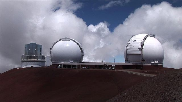 The twin Keck Telescope Domes