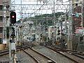 Keihan Korien Station platform - panoramio (12).jpg