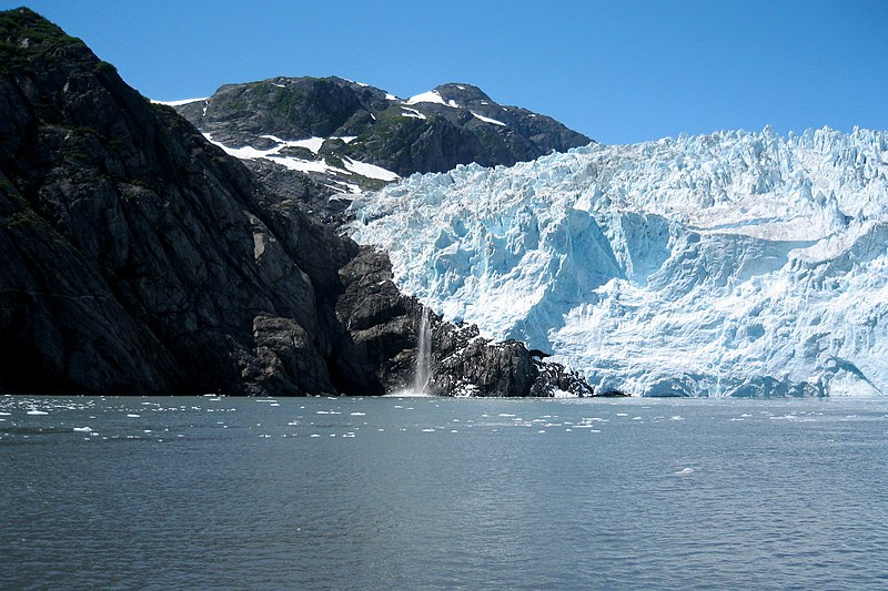 Aialik Glacier in Kenai Fjords National Park. Another one of America's jewels on BingoforPatriots.com