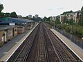 Kensington Olympia stn high northbound.JPG
