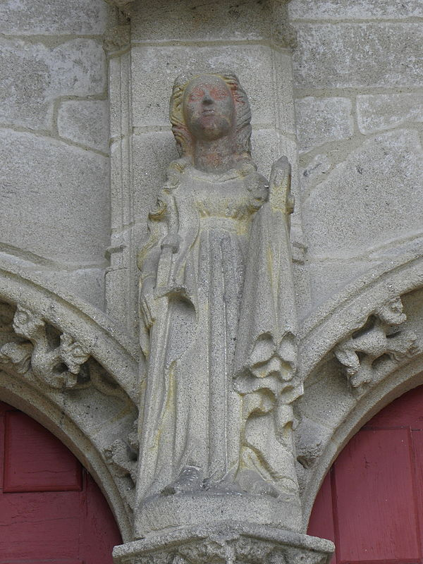 Statue of Catherine of Alexandria