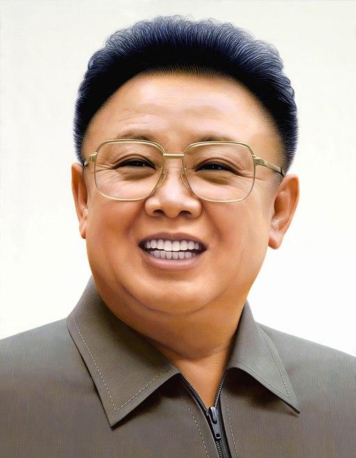 Kim Jong il Portrait-2