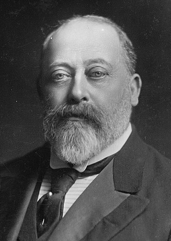 In 1907, Edward VII declared New Zealand to be a Dominion. King-Edward-VII (crp ret).jpg