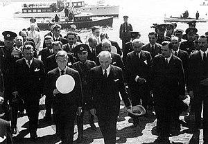 King Edward VIII and President Kemal Atatürk